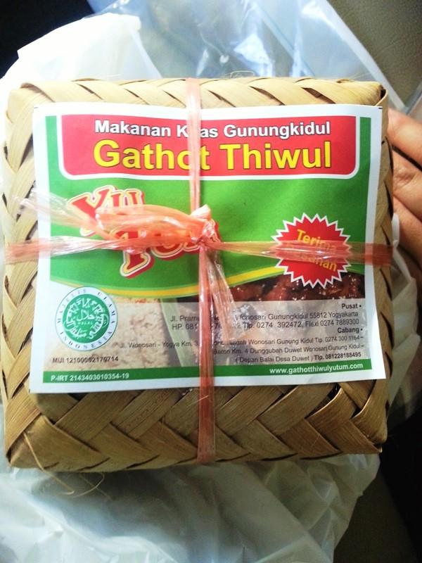 Gathot Thiwul