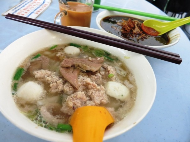 Kway Taow Soup