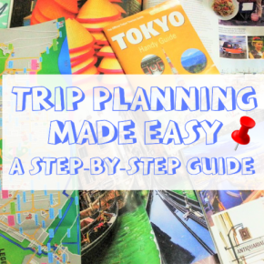20 Steps to plan a multi-city trip