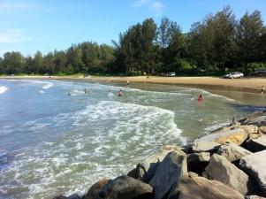 Tungku Beach