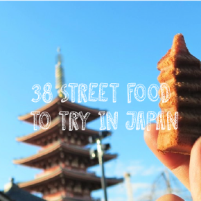 38 Street Food to Try in Japan (My Japan Street Food Diary)
