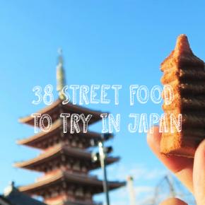 38 Street Food to Try in Japan (My Japan Street FoodDiary)