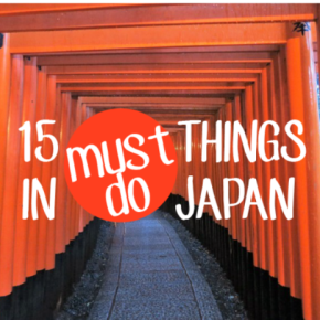 15 Must Do That's SOJapan