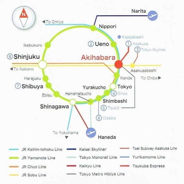 Japan JR Map (2)