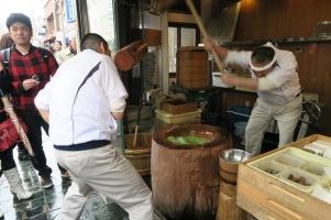 Making Japanese Mochi