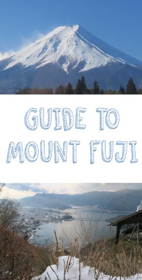 Guide to MountFuji