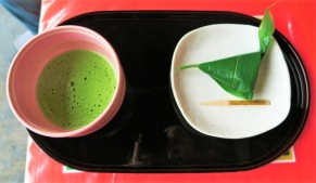 Japanese Matcha and sweet