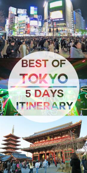 5 Days TokyoItinerary